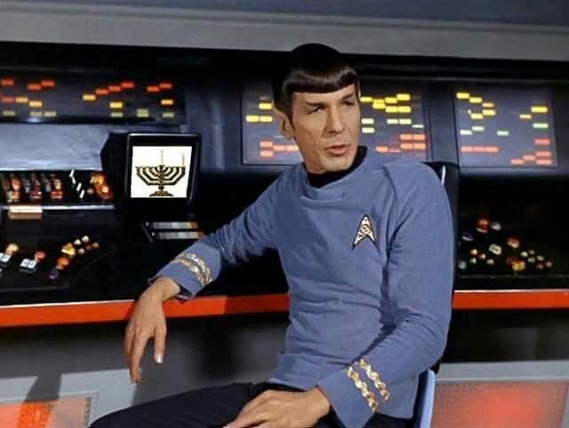 We all knew Spock was Jewish.