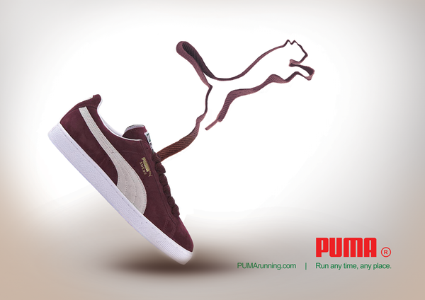 PUMA advertising by Nooshafarin Nooshin Mir Abdollahi, via