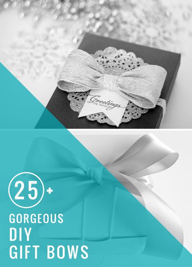 25 DIY Gift Bows | HelloNatural.co