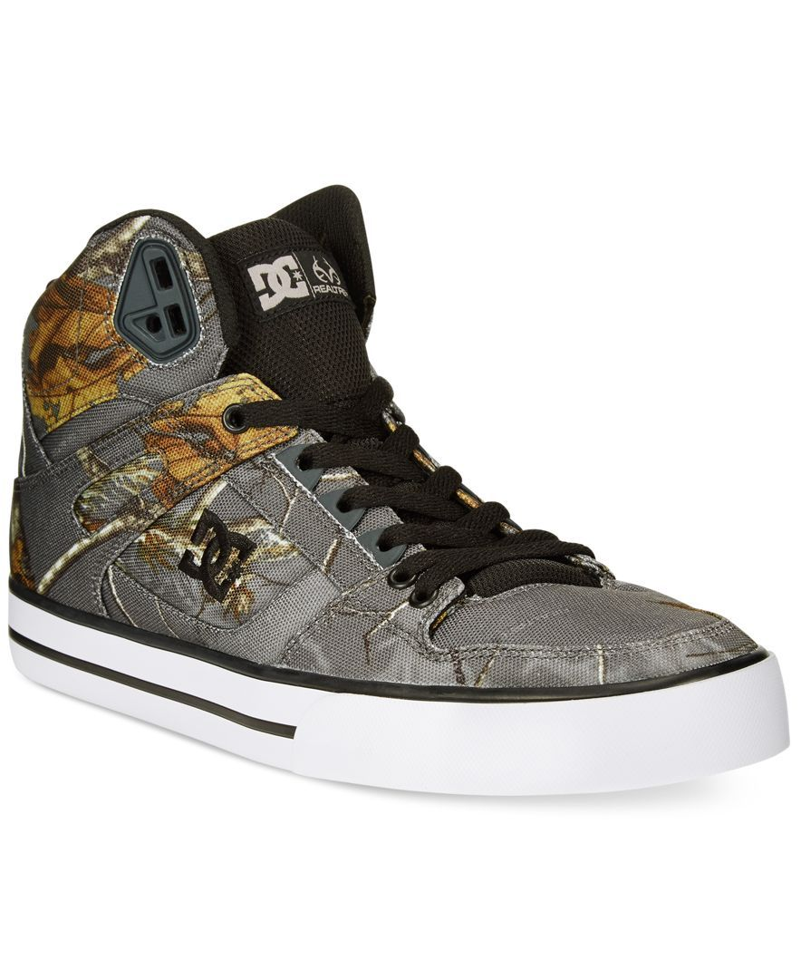 the best attitude 21200 d6679 Dc Shoes Spartan Real Tree High-Tops