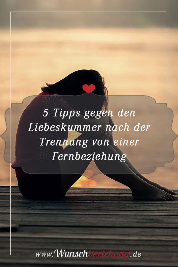 5 Tipps gegen Liebeskummer nach der Trennung von einer