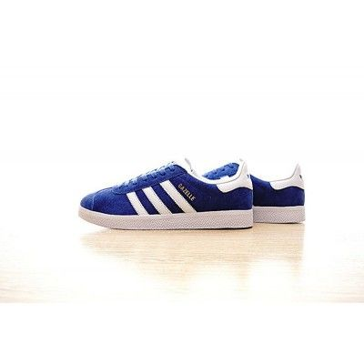 lowest price 8b9ee 39f5c Original Mens Adidas Originals Gazelle Royal Blue White BB5748 Sneakers