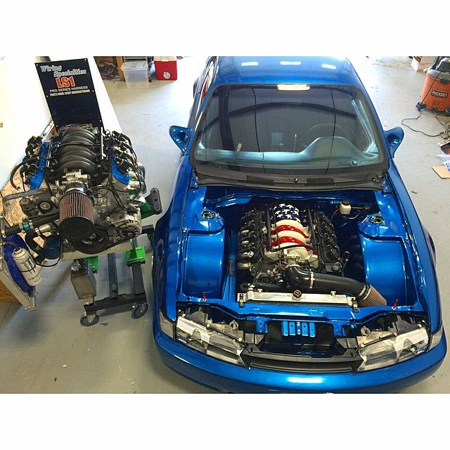 1996 240sx Original Owner - Kouki conversion, LS1 Swapped, PBM, Origin etc etc - StanceWorks