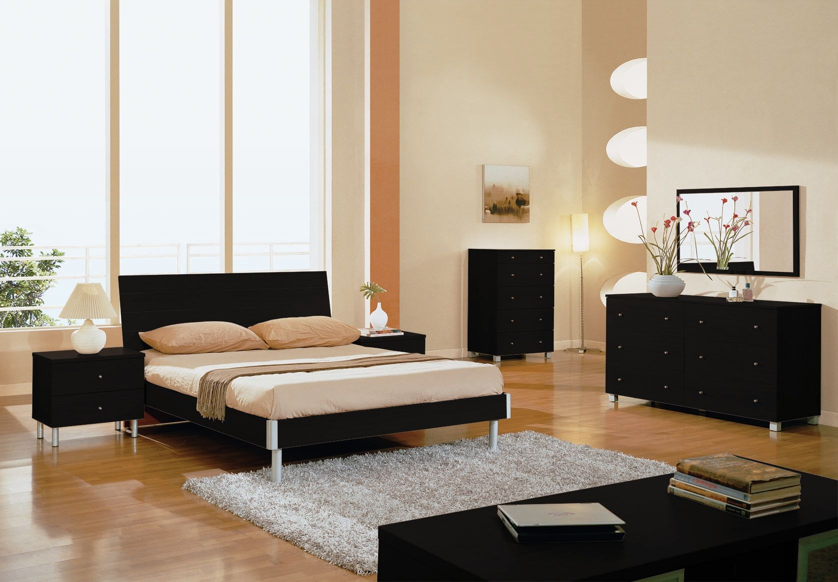 Modern Bedroom Sets Contemporary Modern Bedroom Set Bedroom