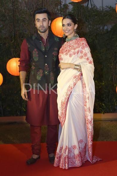 Deepika Padukone Denies Donating To The Same Charity Like Ranbir Kapoor Saree Poses Saree Designs Saree