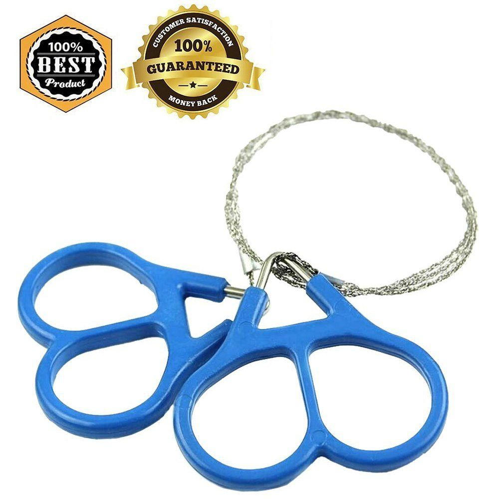 Meanhoo Outdoor Survival Wire Saw Emergency Fretsaw Camping Hunting ...