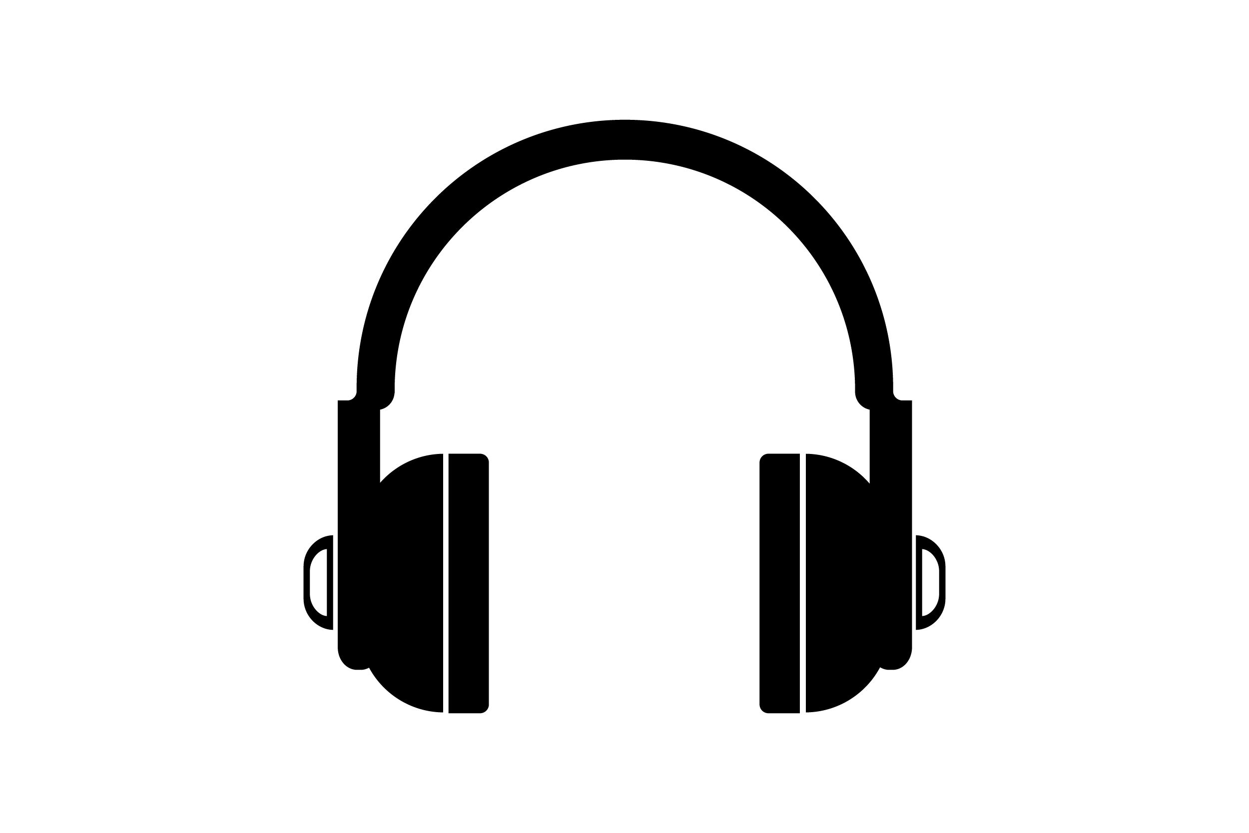 Headphones Computer Icons Png Audio Audio Equipment Black And White Computer Icons Desktop Wallpaper Computer Icon Png Icon