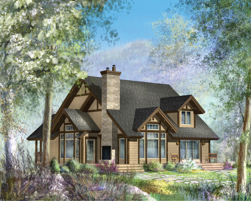 Cabin Style House Plan 3 Beds 1 Baths 3256 Sq Ft Plan 25 4737 In 2020 House Plans House Styles Home Styles Exterior
