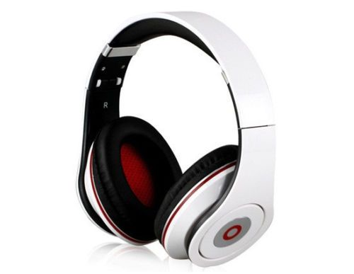 New-Beautiful-Headphones-Headset-Red-Black-White-For-iphone-Special-Edition-Beat