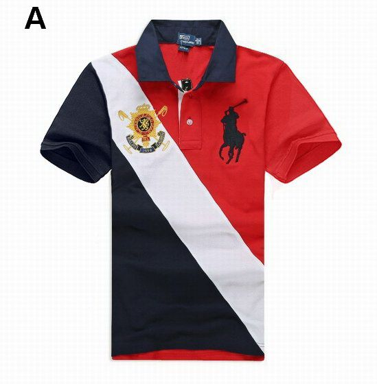 50% pris ganska billigt ny livsstil Ralph Lauren Men Black Watch Sash Big Pony Polo Red White Black ...