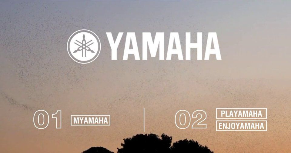 Yamaha D&AD Submission. Bringing Yamaha into the digital world, users can upload their own video or sound capturing the spirit of Kando, sharing the passion and performance of Yamaha. Credit to the owners of any video clip footage used as recording examples in this clip.
