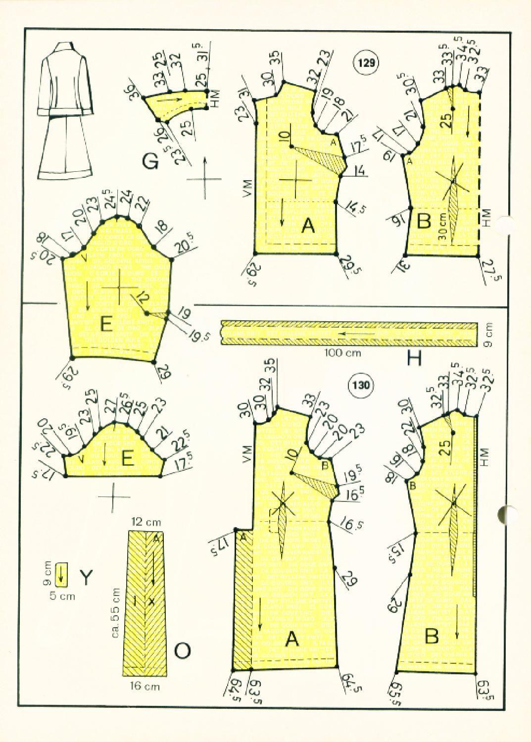 Vintage Sewing Patterns 127 winter 1972 Patternmaking | MOLDERIA ...