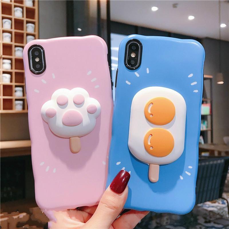 Cute cat paw iphone case