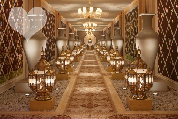 Modern Vegas Wedding Venues Wynn And Encore Tranquility Hall Inside The Spa