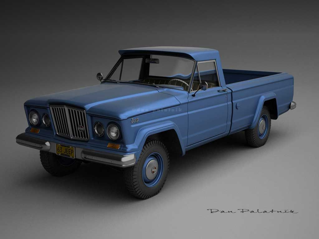 1963 Jeep Gladiator - 1000 images about 1963 Jeep J-300 ...