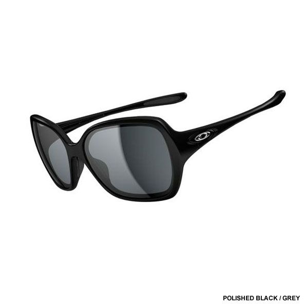 75aeb0791a18a Oakley Women s Overtime Sunglasses - Polished Black   Grey Lens OO9167-01