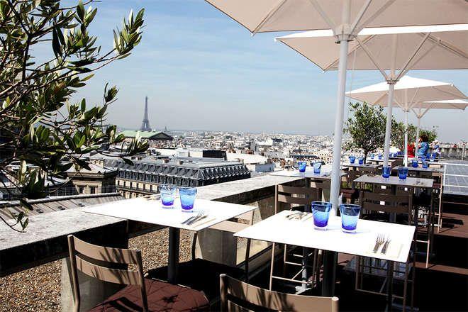 Extraordinaire Les 30 restaurants avec les plus belles terrasses de Paris | Reisen WI-44