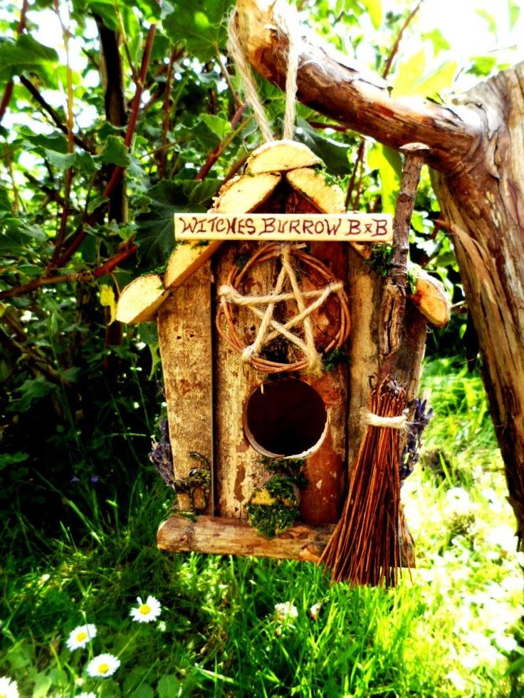 Wiccan Moonsong: 8 Ways To Make Your Garden Enchanting