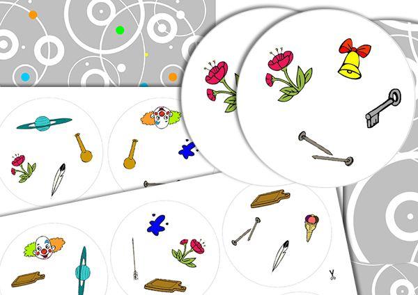 l double initial- dobble _ Réalisé avec le logiciel ArtisKit -  En partage sur ce groupe Face Book –  Partage de matériel Artiskit :  Orthophonie http://www.facebook.com/groups/128326657315777/ -  Site ArtisKit : http://www.artiskit.com