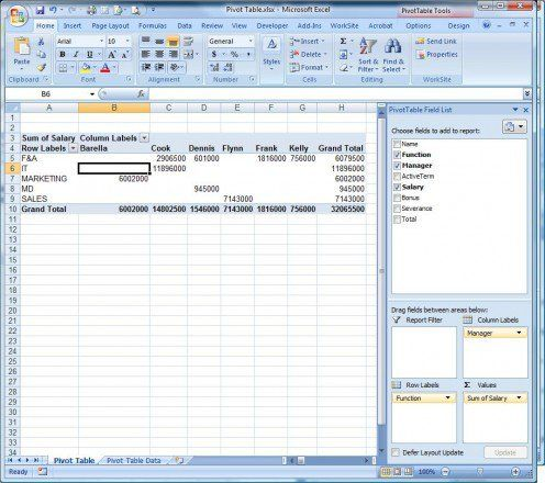 how to use pivot tables in microsoft excel template microsoft