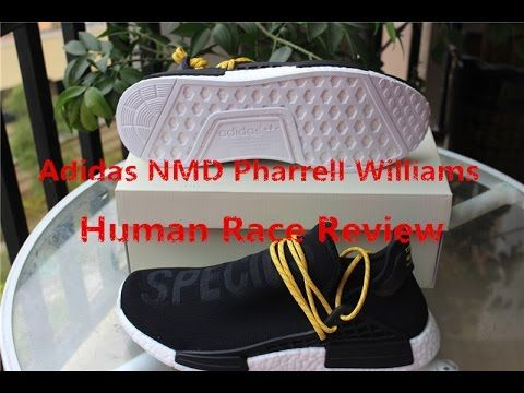 ee2355be3 Unboxing Adidas NMD Pharrell Williams Human Race Black Review From gogoy.