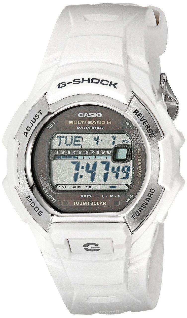 Brand New Casio Mens G Shock Gwm530a 1 Atomic Tough Solar Digital Gst 200cp 9a Gwm850 7cr White Watch Http