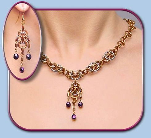 Chainmail & More chain mail choker necklaces, Gothic chokers, Renaissance medieval style necklaces