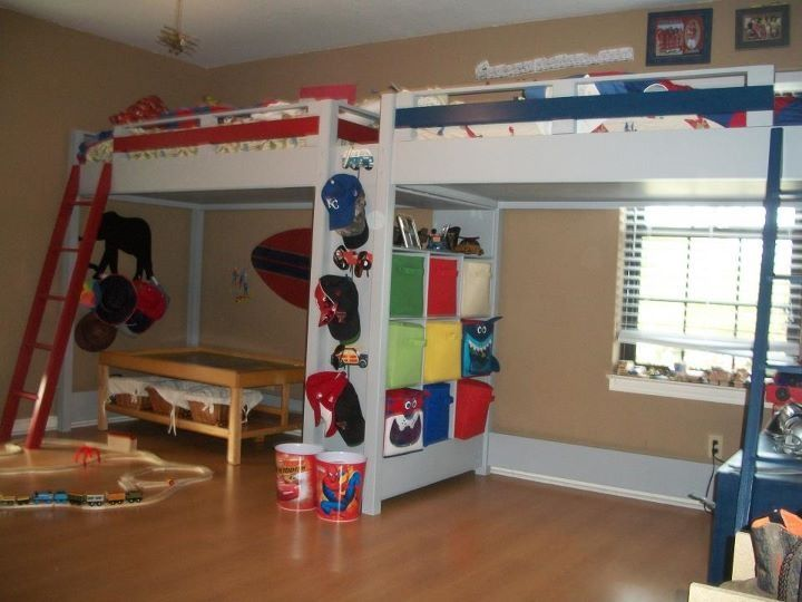 Loft Beds for Teens | Loft beds Yes! This one in full size!