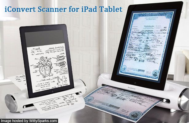 iConvert Scanner for iPad | Witty Sparks