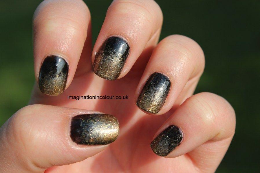 Black And Silver Nail Art - http://www.mycutenails.xyz/black-and ...