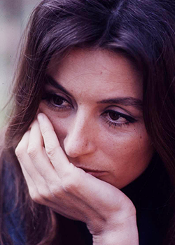 "kellyreichardt: "" Anouk Aimee photographed by Bill Epperidge for Life Magazine (1967) """