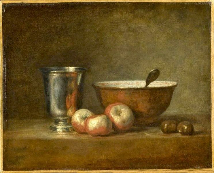 Chardin - Le Gobelet d'argent , 1768