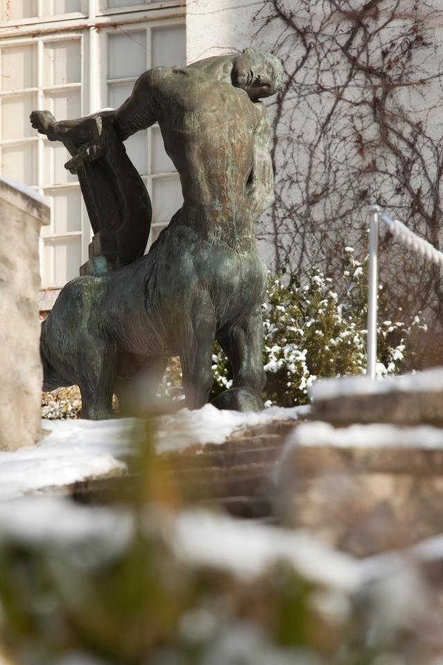 Grand Centaure Mourant sous la neige - Musée départemental Maurice Denis