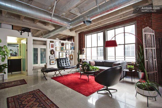 Luxurious Downtown Los Angeles Loft In Los Angeles Home Interior Design Decor Interior Design