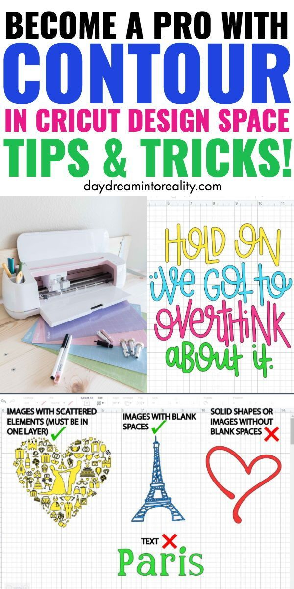 How to Contour in Cricut Design Space and Why isn't