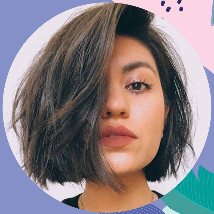 Everyone S Asking For A Hacked Bob In Hair Salons Because It S More Rebellious And Casual British Glamour Bob Hairstyles Short Bob Hairstyles Bobs Haircuts