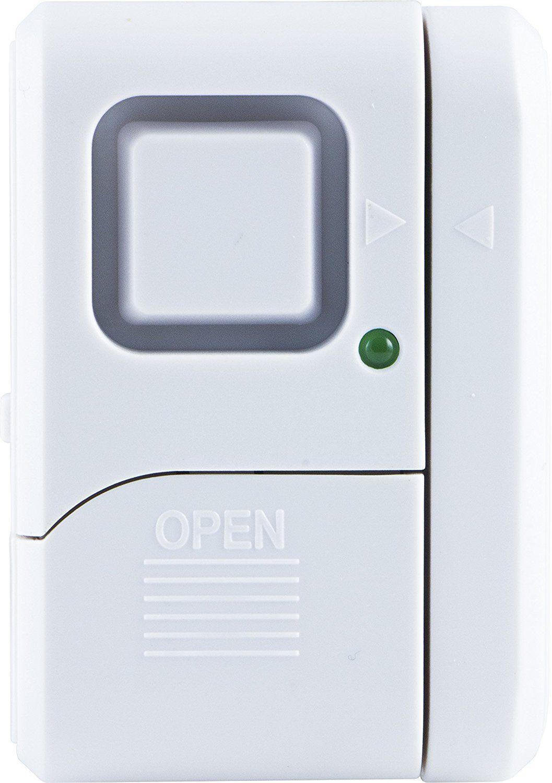 Ge Personal Security Window Door Alarm Diy Home Protection Burglar Alert Magnetic Sensor Off Chime Alarm Easy Installa Home Protection Door Alarms Burglar