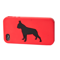 Boston Terrier Silhouette Gifts iPhone case
