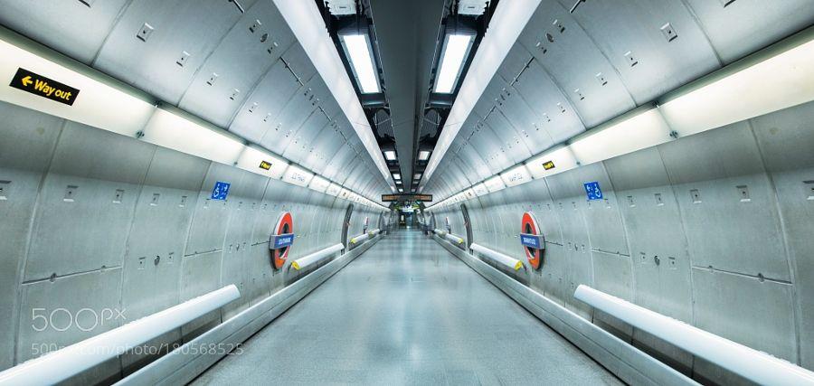 empty metrostation by MauritsdeGroen1