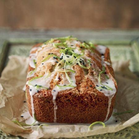 Chetna Makan's black sesame and lime cake | Recipe ...