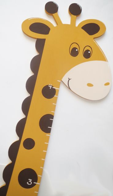 Wooden Giraffe Growth Chart For Wall Going On My Wish List