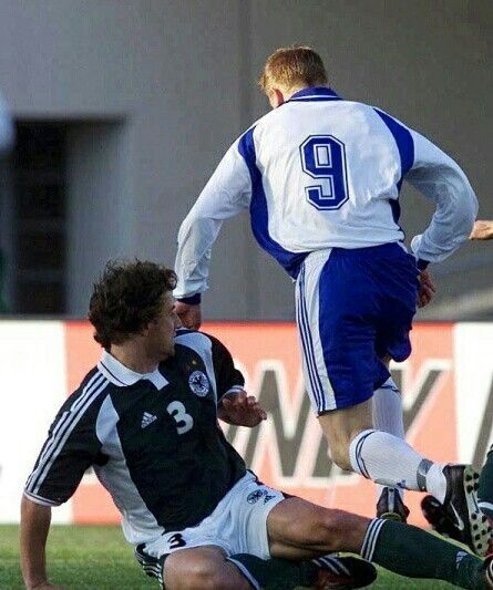 Finland 2 Germany 2 in June 2001 in Helsinki. Finland were winning 2-0 at one stage in this World Cup Qualifier.