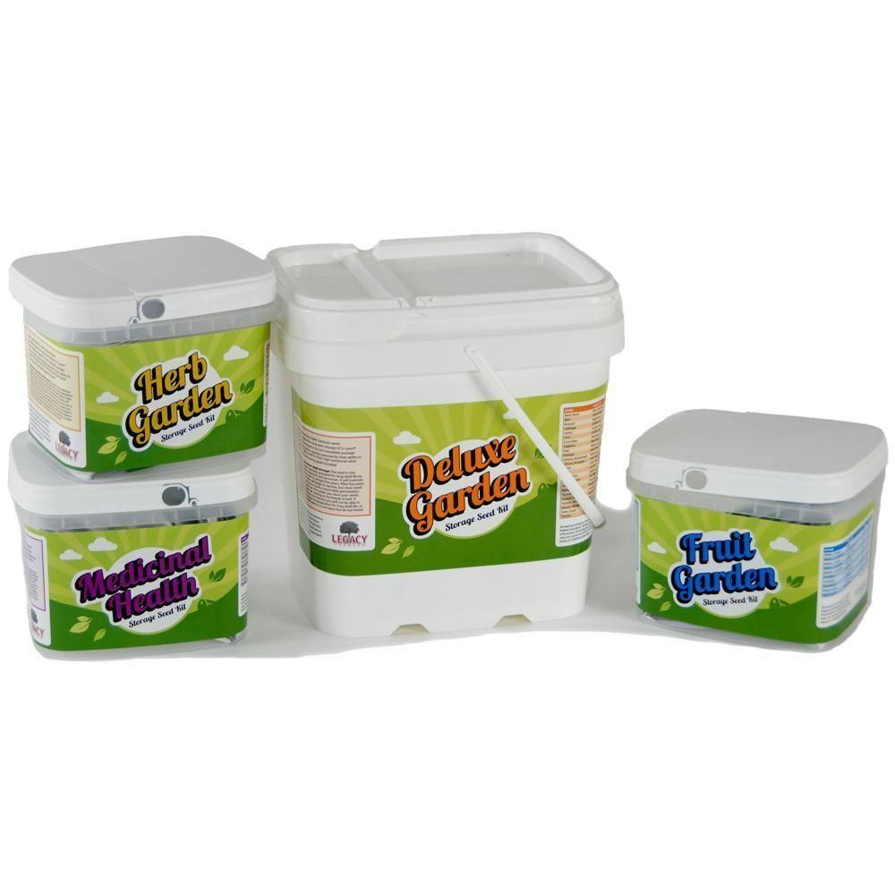Ultimate Seeds Kit Fruit Herb Medicinal And Vegetable Garden