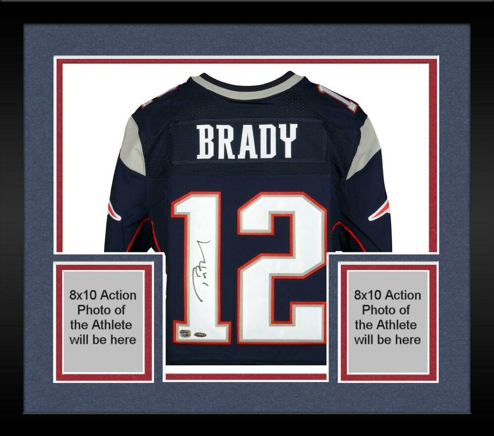 Autographed Tom Brady Patriots Jersey Fanatics Authentic Coa Item 5521135 Sportsmemorabilia Autograph Football Patriots Sign Tom Brady News Jersey Patriots