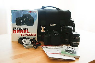 Canon EOS Rebel T2i / EOS 550D 18.0 MP Digital SLR Camera - Black (Kit w/... https://t.co/fq04MTYLzG https://t.co/yLxfZSQ3Z7