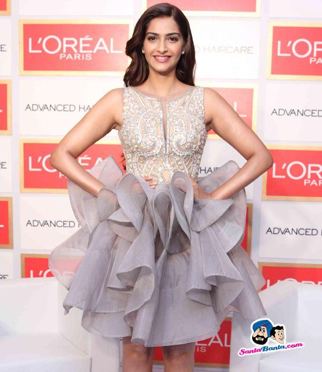 Sonam Kapoor at LOreal Event -- Sonam Kapoor Picture # 317757