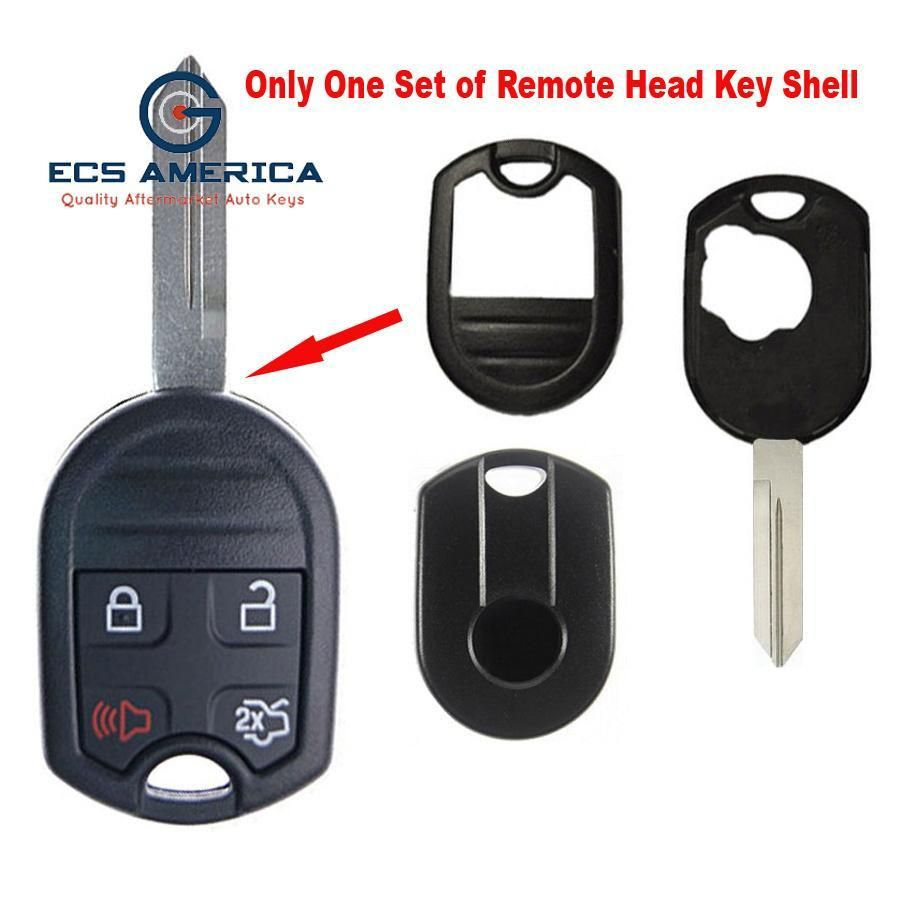 2011 2015 Ford Remote Head Key Shell 4b Control Key Key Remote