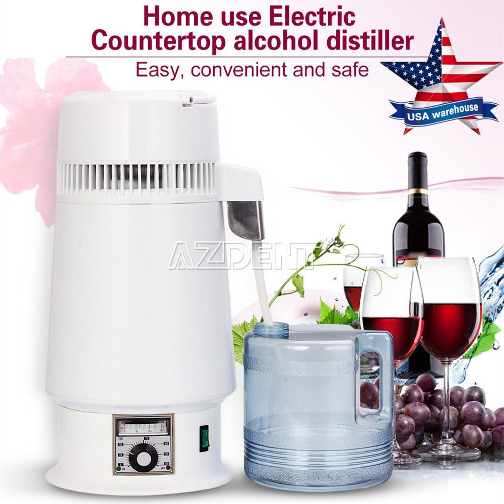 Easy Electric Countertop Alcohol Distiller Moonshine Whiskey Vodka