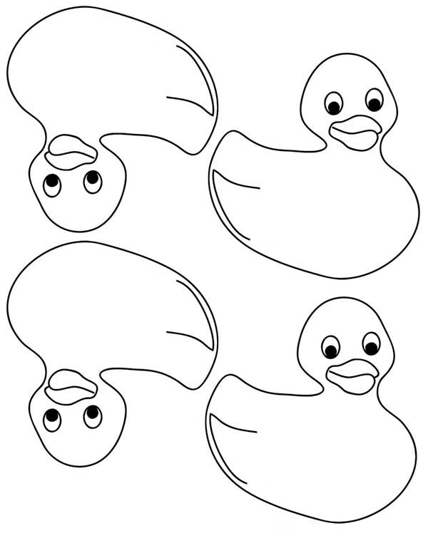 Rubber Ducky Coloring Page For Kids Coloring Sky Cool Coloring Pages Coloring Pages For Kids Coloring Pages
