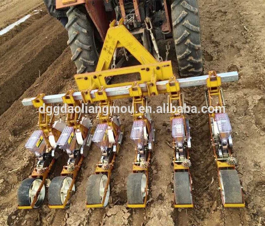 Multi Row Precision Vegetable Seed Planter Tractor Mounted Farm